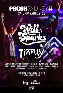 Will Sparks Pacha flyer